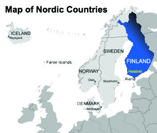 Finland & Nordic Countries MAP